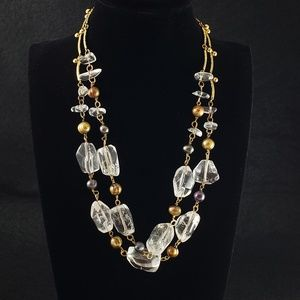 Vintage Tanner Necklace Real Pearls